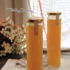 雪梨香橙蜂蜜汁的做法大全