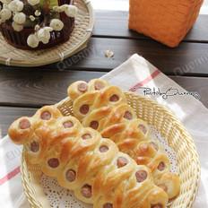 欧芹香肠面包