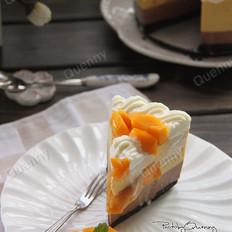 【芒果流心慕斯蛋糕】