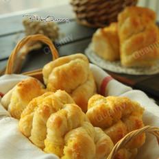汤种椰蓉面包卷