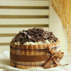 巧克力夏洛特蛋糕