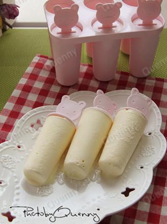 奶酪冰棒的做法