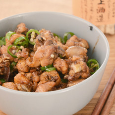 围山公社浏阳菜:茶油煸土鸡
