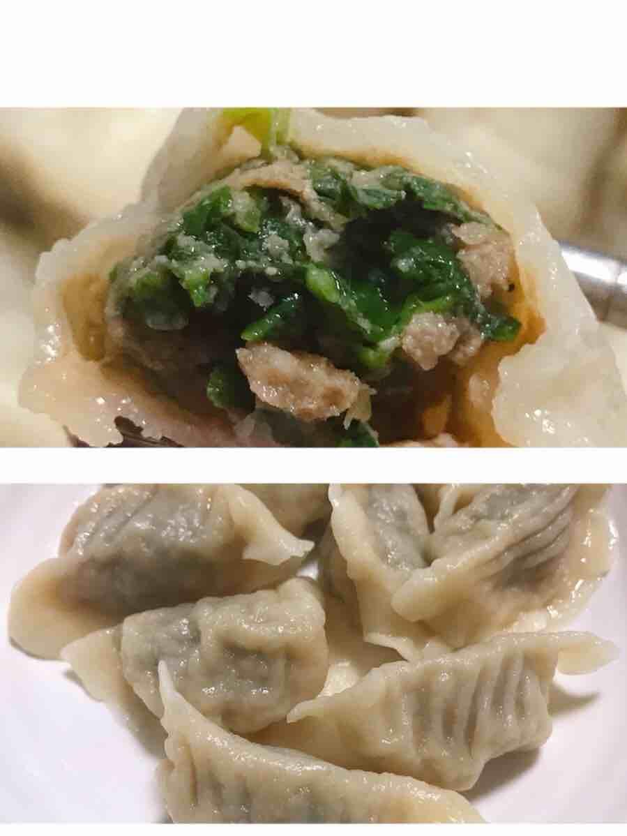 荠菜牛肉水饺