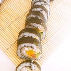快手做寿司(紫菜包饭)