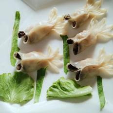 宝宝辅食:金鱼蒸饺