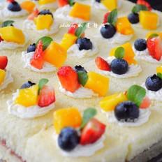 水果夹心蛋糕
