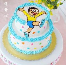 大雄生日蛋糕