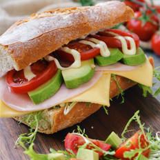 爱就是把喜欢的食材夹进三明治里
