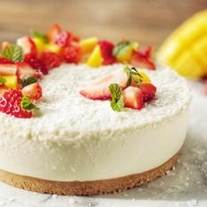 椰子慕斯水果蛋糕的做法