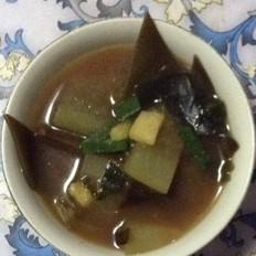 冬瓜海带素汤