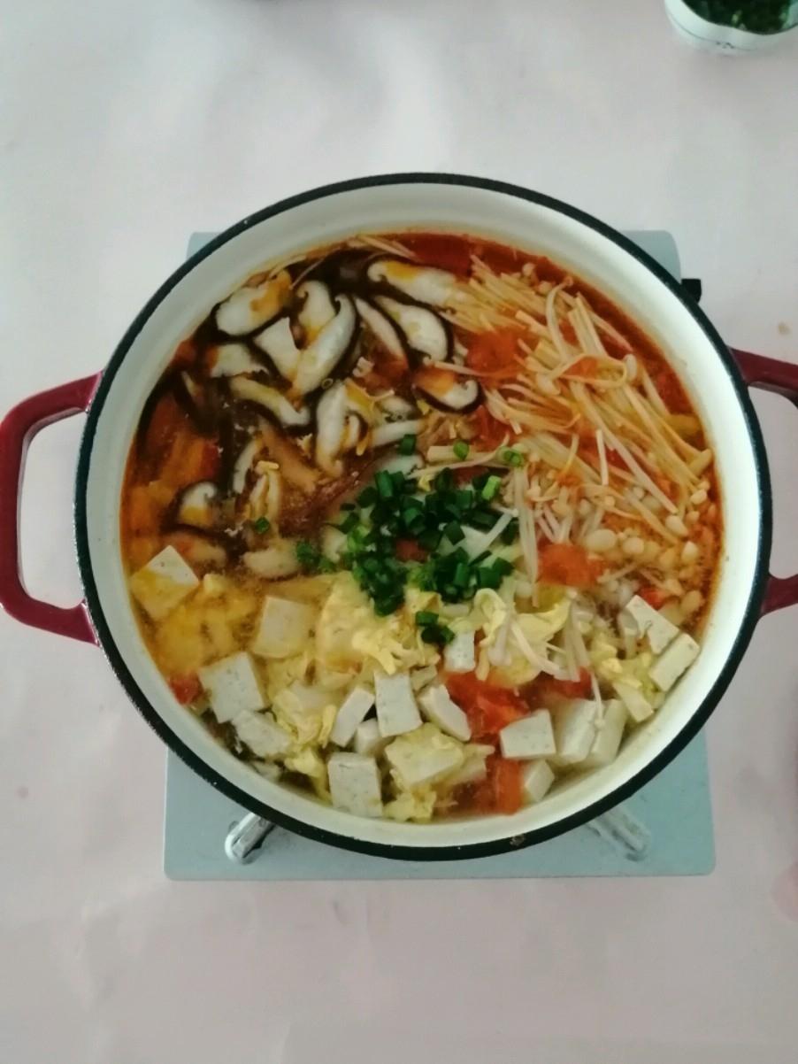 菌菇蔬菜汤