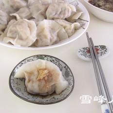 猪肉白菜水饺