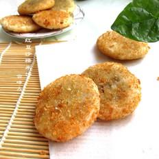 红豆沙糯米饼
