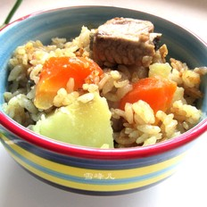 排骨咖喱米饭