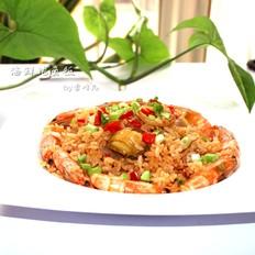海鲜鲍鱼饭