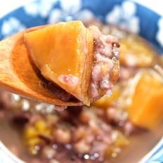 南瓜黑米杂粮粥