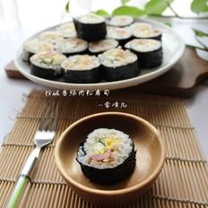 香肠肉松 寿司