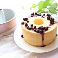 镂空蓝莓蛋糕