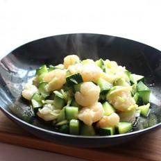 黄瓜滑虾仁