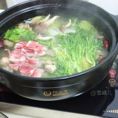 鸡汤火锅的做法大全