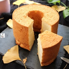 杏仁戚风蛋糕
