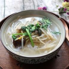 绿豆芽木耳汤