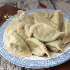 韭菜豆腐饺子