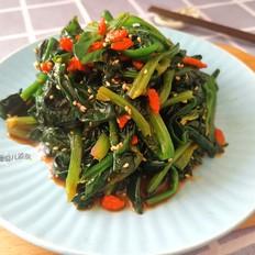 枸杞芝麻拌菠菜