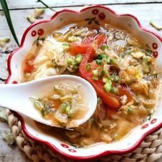 槐花鸡蛋汤的做法