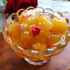 菠萝味果冻的做法