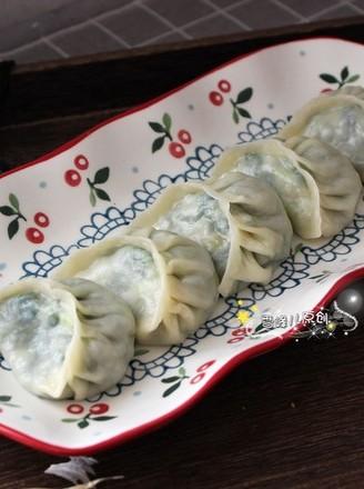 素馅蒸饺的做法