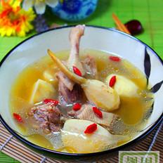 茨菇老鸭汤