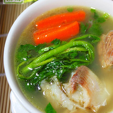 西洋菜鲫鱼汤