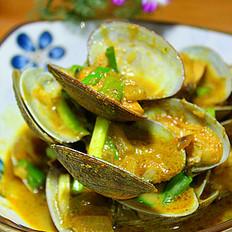 咖喱浓情蛤蜊