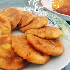 地瓜红豆糯米饼