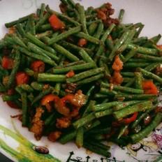 肉丝炒豇豆