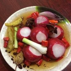 樱桃萝卜泡菜的做法