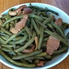 猪肉炖豆角
