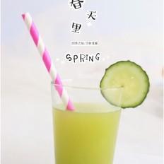 菠萝黄瓜汁