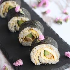 燕麦香米寿司