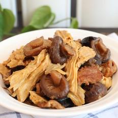 香菇木耳炖腐竹