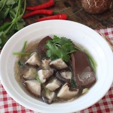 香菇鸭血炖粉条煲