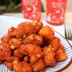 茄汁蒜香鸡块