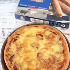 牛肉肠披萨