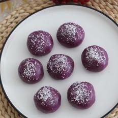 椰蓉紫薯糯米糍