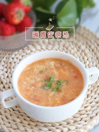 暖胃疙瘩汤的做法