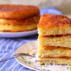菠萝层层叠蛋糕