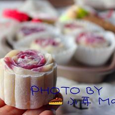 冰皮月饼,紫色的浪漫
