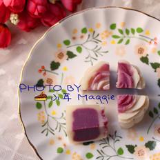 紫薯馅,冰皮月饼馅一